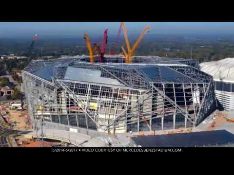 The Agonies of Building Atlanta's Mercedes-Benz Stadium