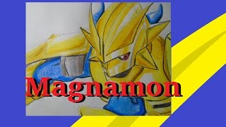 57 Magnamon (Digimon) - Damanuve