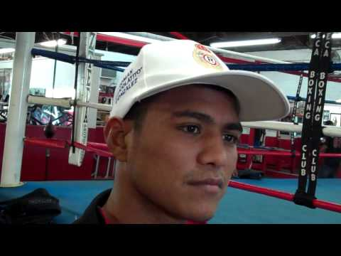"Roman ""Chocolatito"" Gonzalez interview"