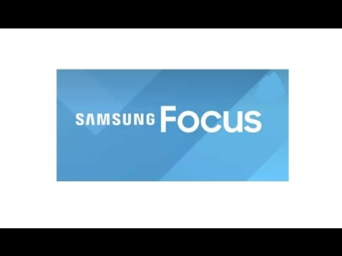 SAMSUNG FOCUS APPLICATION