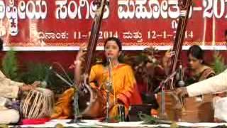 """Mahalaxmi Shenoy - Raag Madhukauns  """"Sur Sadhana"""" Drut Bandish"""