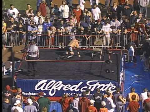 TLC Match: Teddy Hart vs. AJ Styles vs. Sabu