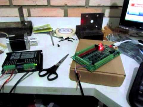 interface cnc 100  USB 200khz e pat  vel  mach3  YouTube