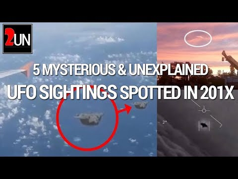 5 Mysterious and Unexplained UFO Sightings Spotted In Year 201x | 2UN TV