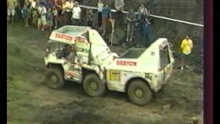 Europa Truck Trial 28 of the 90s. Gama-Goat, Tatra, ZIL 6x6, , Magirus.