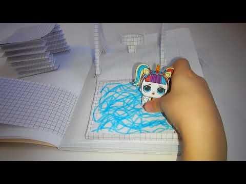 домик для куклы лол 2 лол своими руками бумажные идеи лол
