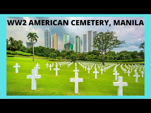 MANILA, the WW2 AMERICAN CEMETERY and Memorial, Philippines