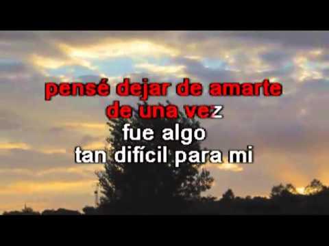 Roberto Carlos   La distancia karaoke