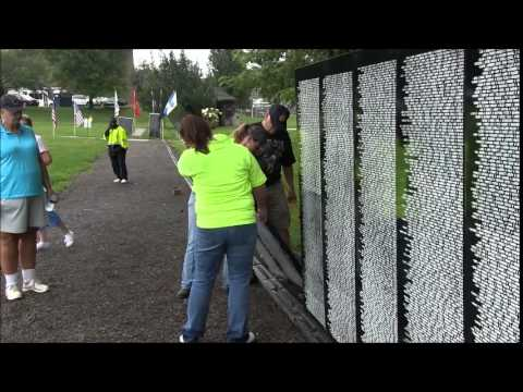 Vietnam Memorial Wall at Thomson Hood Veterans Center ( The Wall Song By: J.P. Williams)