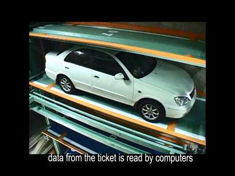 Ryoko Machinery Taiwan- Parking Procedure of Parking Tower (eng)