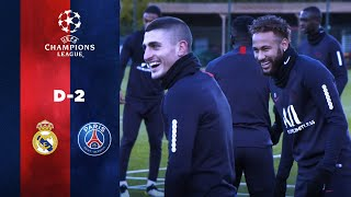 D-2 - TRAINING SESSION BEFORE Real Madrid - Paris Saint-Germain