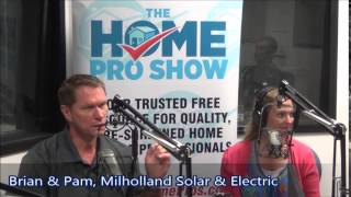 Milholland Explains How Solar Helps The Community On The Approved Home Pro Show