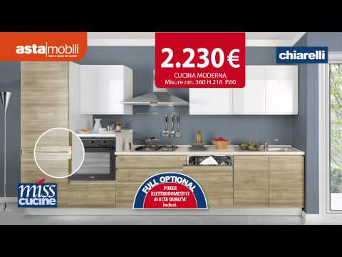 Spot 15 Asta cucine miss - YouTube