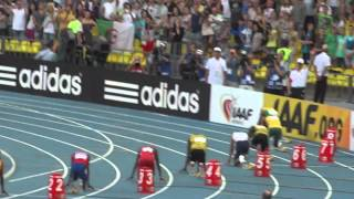 Usain Bolt Усэйн Болт 200 M Финал Легкая атлетика Москва 2013