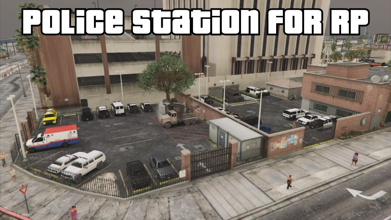 Bildergebnis für gta 5 los santos police station