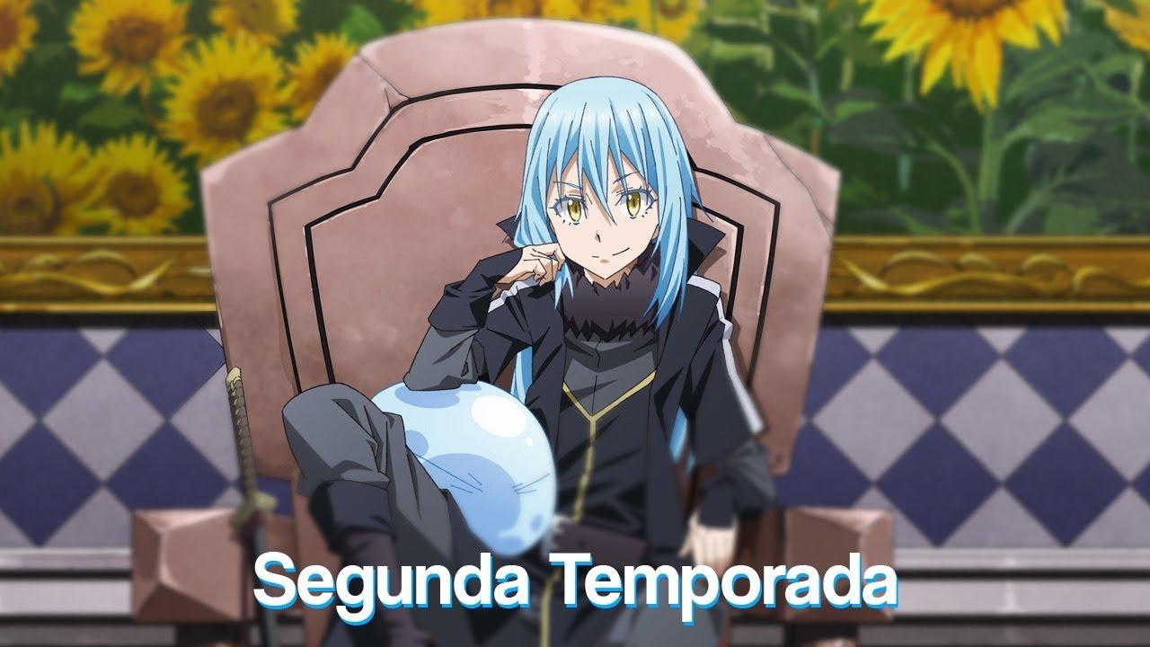 Segunda Temporada Tensei shitara Slime Datta Ken | That Time I Got  Reincarnated as a Slime