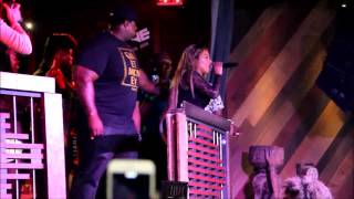 "Lil Kim Performs ""Queen Bitch"" at The Shrine Chicago"