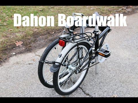 Dahon Boardwalk Folding Bike Review Youtube
