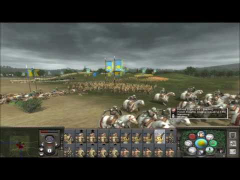 "Medieval 2 Total War online battle #149: ""Aztecs vs Poland"""