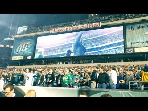 A Clip From Donovan McNabb's Retirement Ceremony