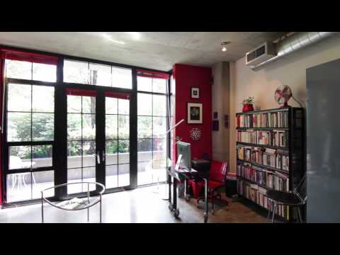 Portland Oregon Real Estate Video Tour - 1030 NW 12th #127 Streetcar Lofts