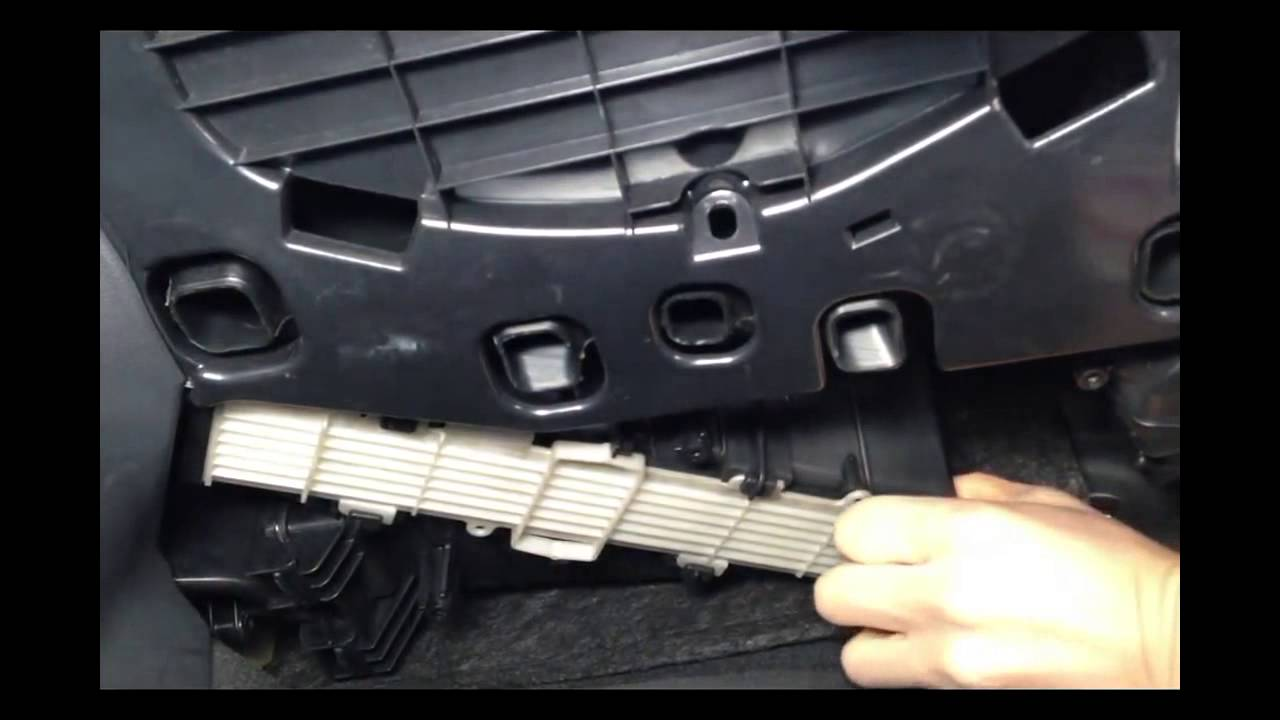 A4 b8 cabin air filter replacement a4 youtube for What size cabin air filter do i need