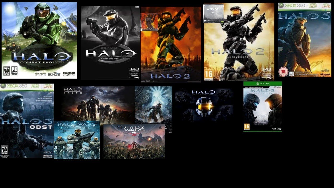 Evolution Of The Halo Theme Song (Combat Evolved-Wars 2