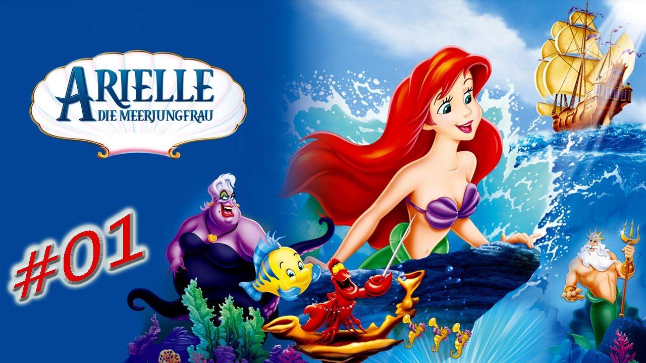 Lets Play Arielle die Meerjungfrau [German] #01 - Unter