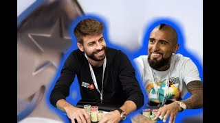 Gerard Piqué Comes in 2nd at EPT Barcelona Event!