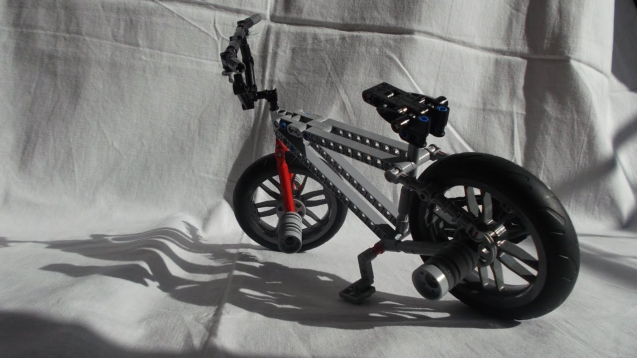 Lego Technic Bmx Bike Youtube