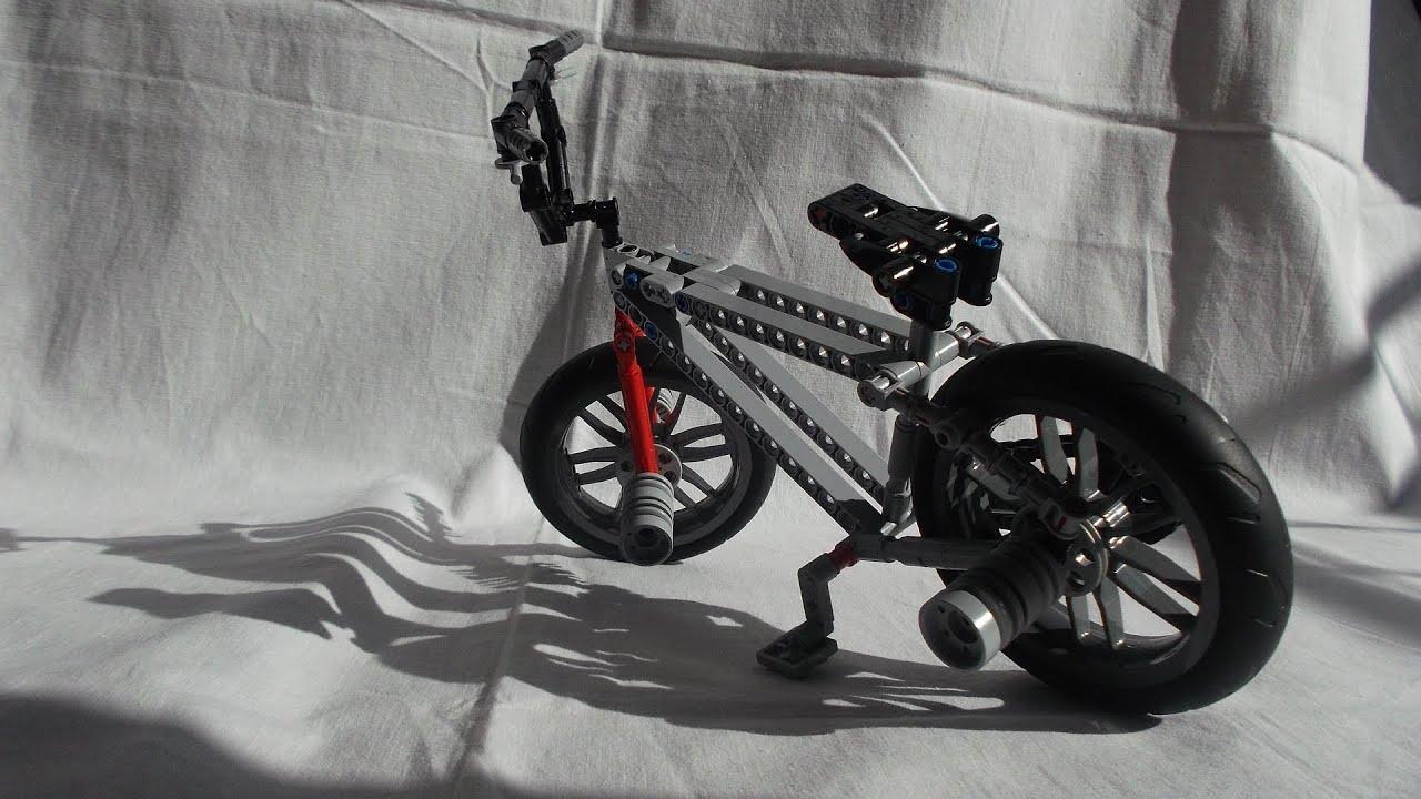 Bike And Girl Wallpaper Hd Lego Technic Bmx Bike Youtube