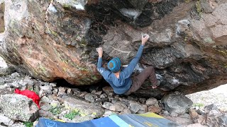 Backcountry Bouldering - Adventure Climbing in Colorado.