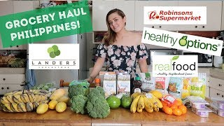 Hey guys! jus wanted to share with you a couple of snacks and items i got from different stores: healthy options, landers, regular supermarket real foo...