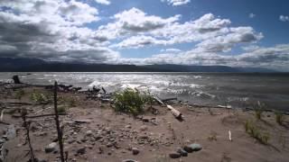 Flathead Lake Blustery Day