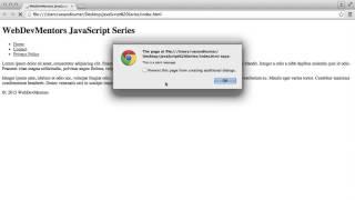External Javascript