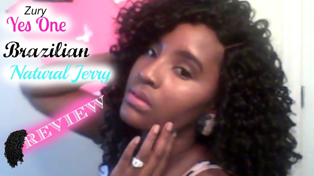 Zury Yes One Brazilian Natural Jerry With Hand Tied Lace Closure Review You