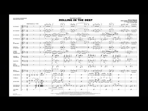 Rolling in the Deep arranged by Michael Brown