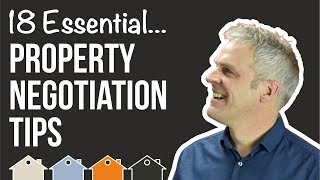 Property Investment Skill No.4 - Negotiation Skills   How To Negotiate on Property