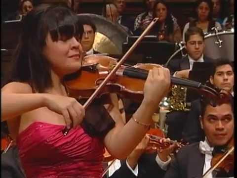 Tchaikovsky Violin Concierto 1/2 Angelica Olivo - Gustavo Dudamel - OSJVSB