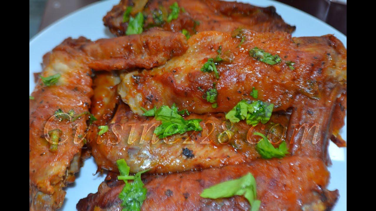 Ailes de dinde brais es cuisine africainne youtube - Cuisiner escalopes de dinde ...