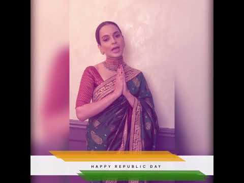 #KanganaRanaut sends out wishes for #RepublicDay