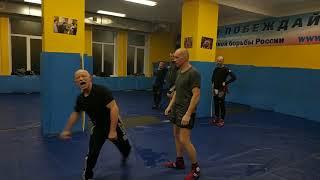 Упражнение для защиты от бокового и контратаки...