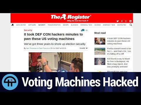 Voting Machines Hacked in Minutes