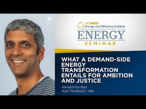 What a Demand-Side Energy Transformation Entails for Ambition and Justice