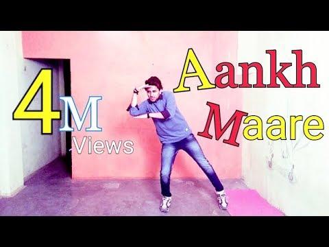 Aankh Maare O Ladka Aankh Maare Seeti Bajaye Movie Simmba Dance By Sanju Prajapati