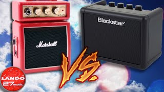 Marshall MS-2R vs Blackstar Fly 3 - Mini Amp Comparison