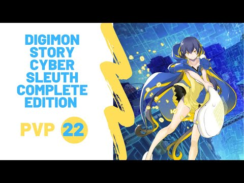 Digimon Story Cyber Sleuth Complete Edition PVP 22 |