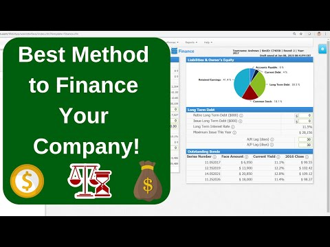 capsim---finance,-leverage,-and-days-of-working-capital