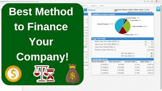 Capsim - Finance, Leverage, and Days of Working Capital