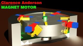 FREE ENERGY, Clarence Anderson Magnetic Motor